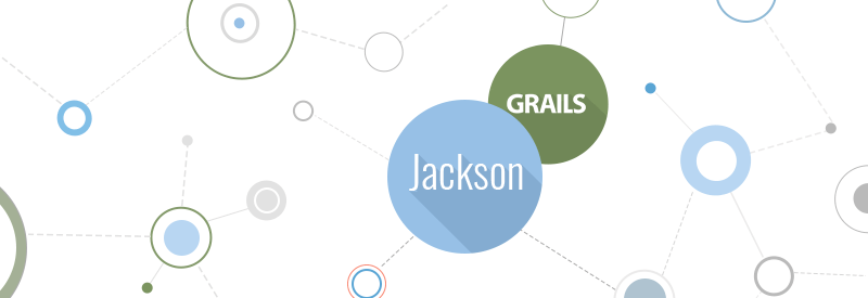 Grails, jackson, json technologies