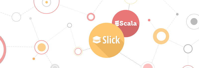 Scala, slick, mysql technologies